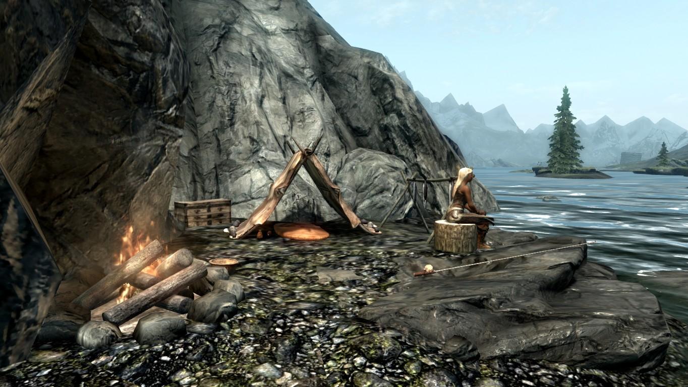 Лагерь охотника — Камни-хранители