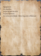 Liste de fournitures 2
