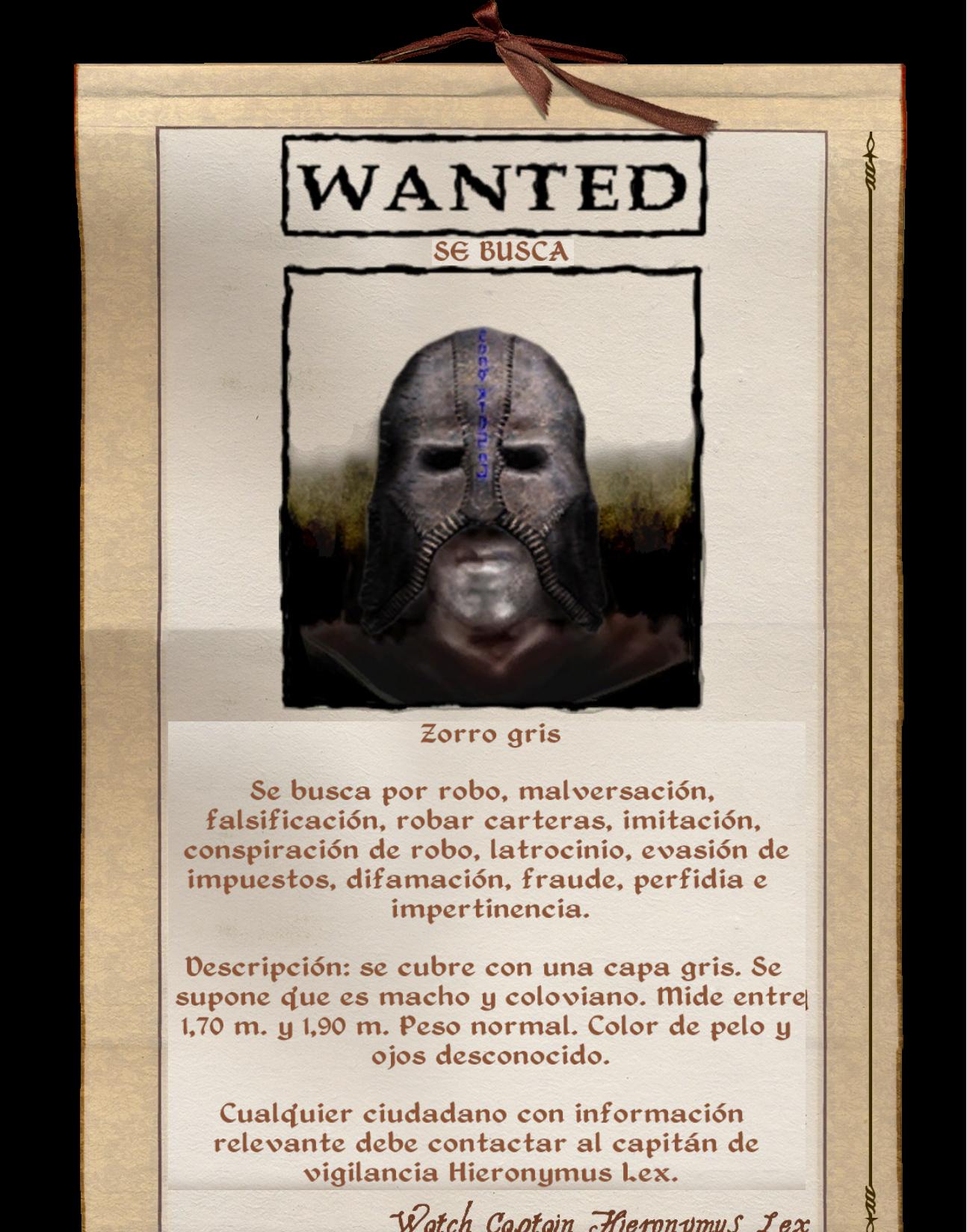 Zorro Gris (Oblivion)