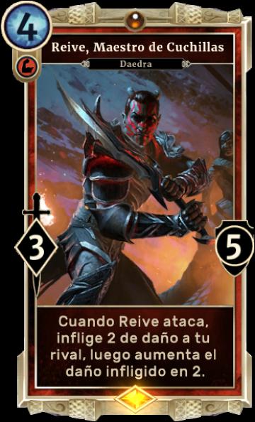 Reive, Maestro de Cuchillas