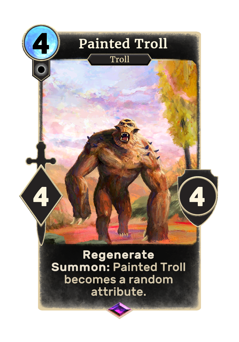 Painted Troll (Legends)