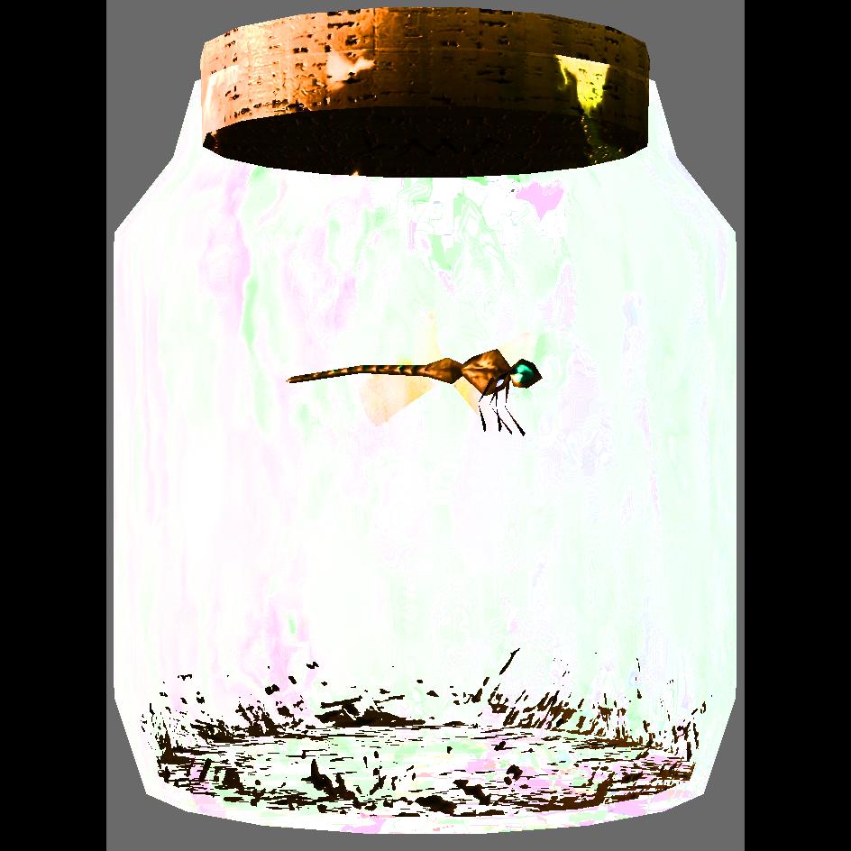 Dragonfly in a Jar