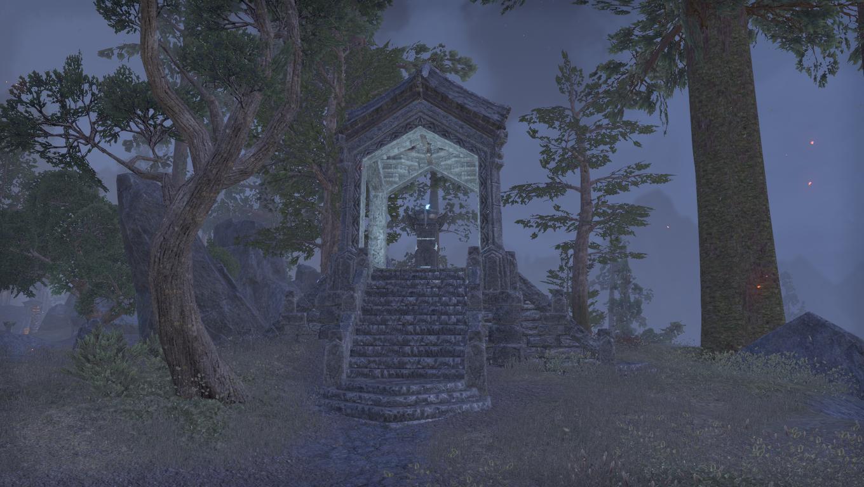 Дорожное святилище хребта Граница Морозов