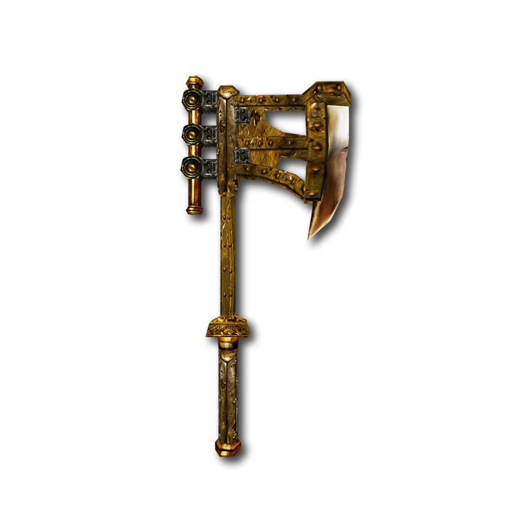 Двемерский боевой топор (Morrowind)