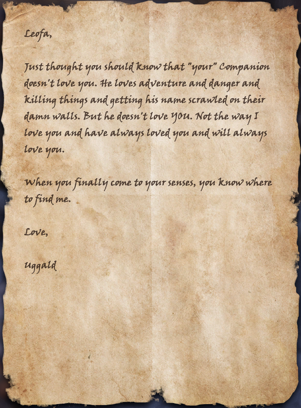 Angry Love Letter
