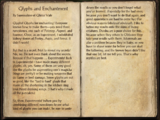 Glyphs and Enchantment
