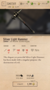 Silver Light Hammer