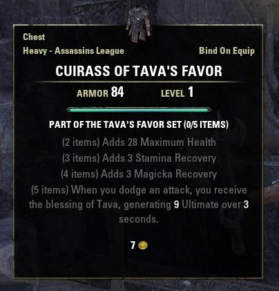 Tava's Favor