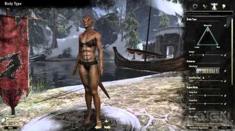 Equillibrium/Elder Scrolls Online: Character Creation