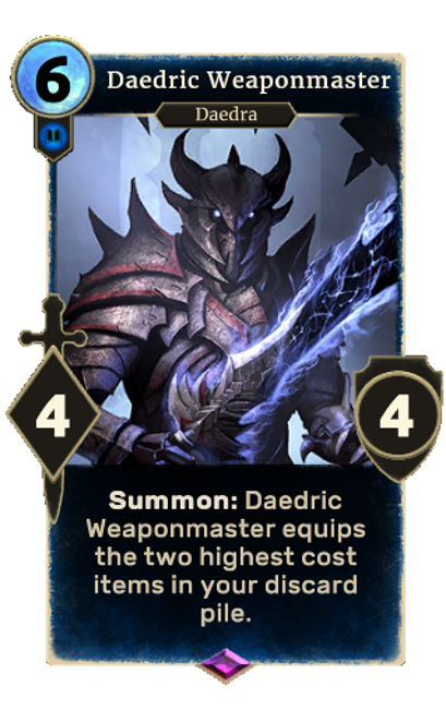 Daedric Weaponmaster