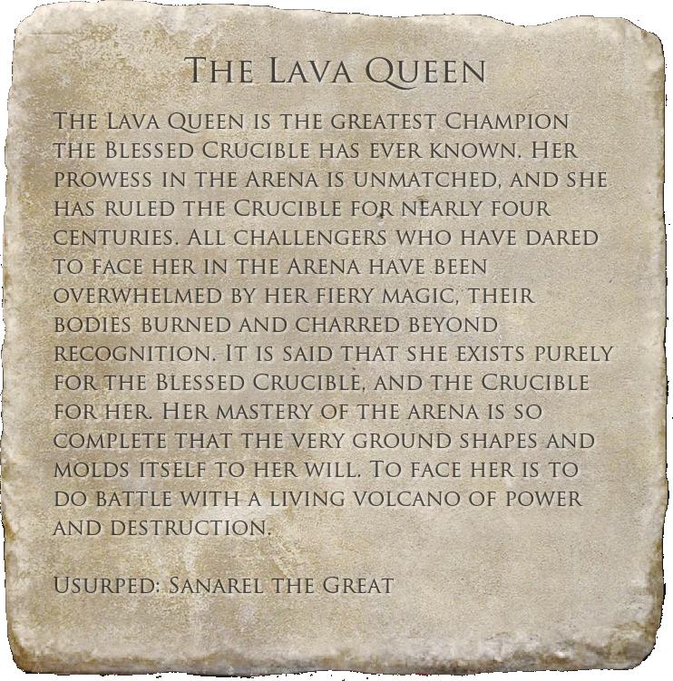 The Lava Queen (Book)