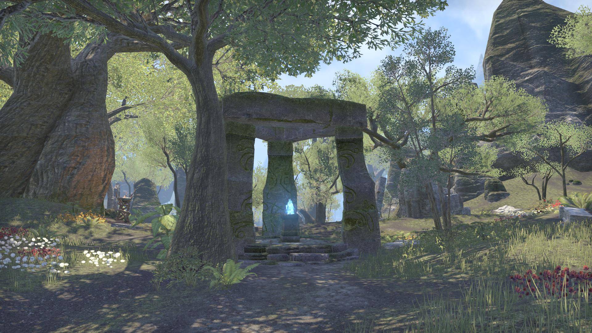 Дорожное святилище рощи Веррант