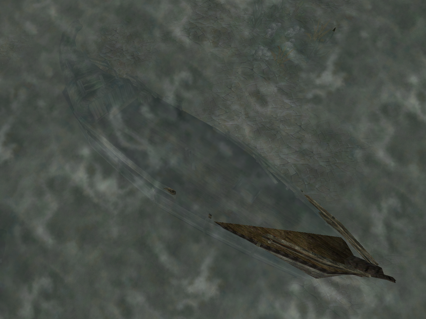 Deserted Shipwreck