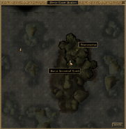 Sarys Ancestral Tomb Local Map