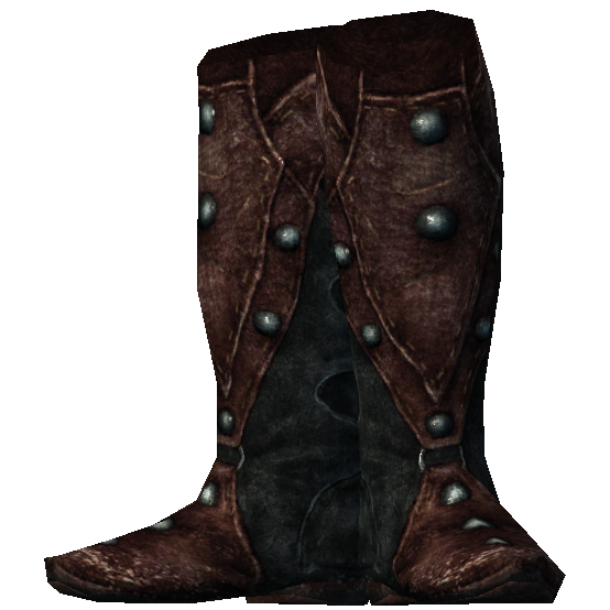 Ancient Shrouded Boots