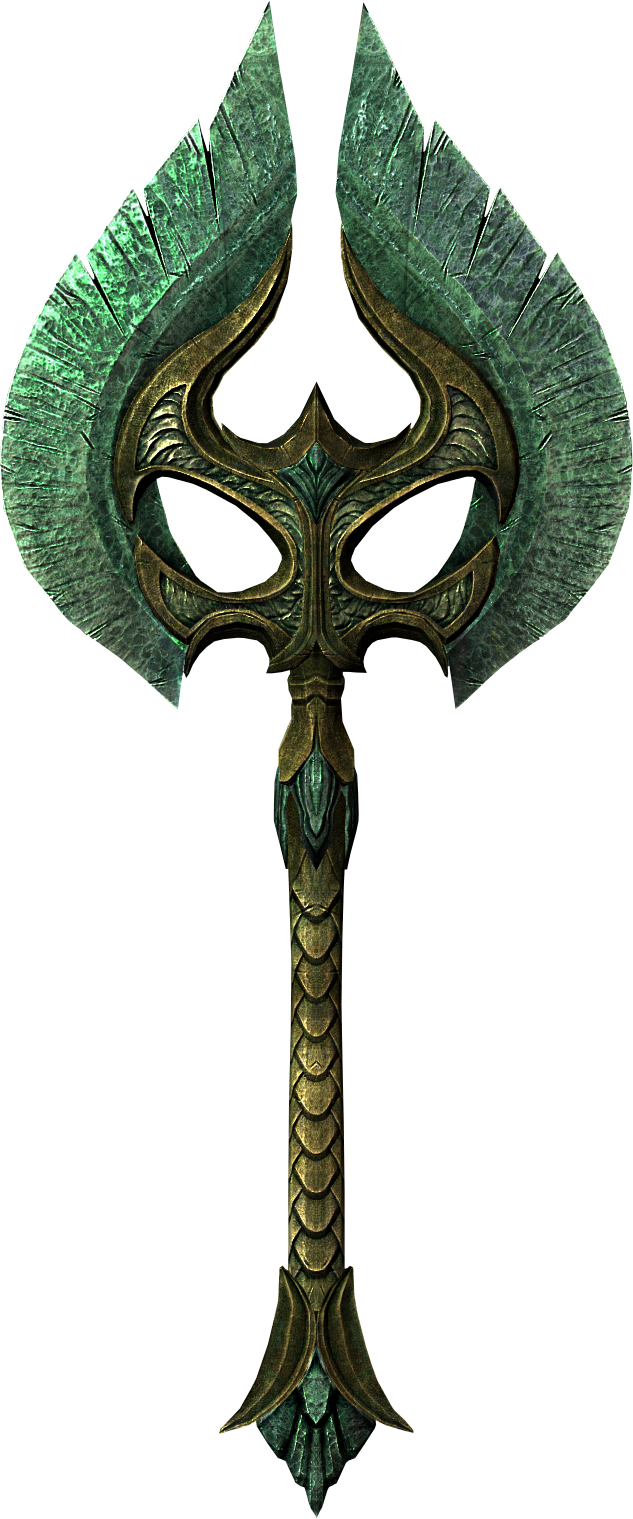 Glass War Axe (Skyrim)