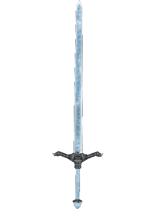 Stalhrim Longsword of Flame