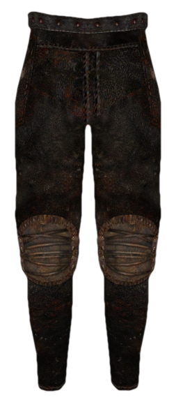 Leather Greaves (Oblivion)