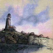 TESIV Painting Anvil Lighthouse
