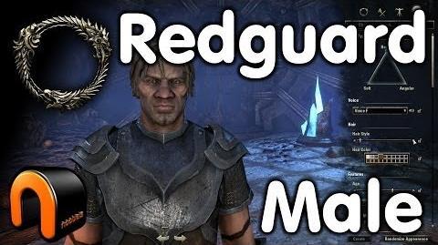 Elder Scrolls Online -- Redguard Male - Character Creation