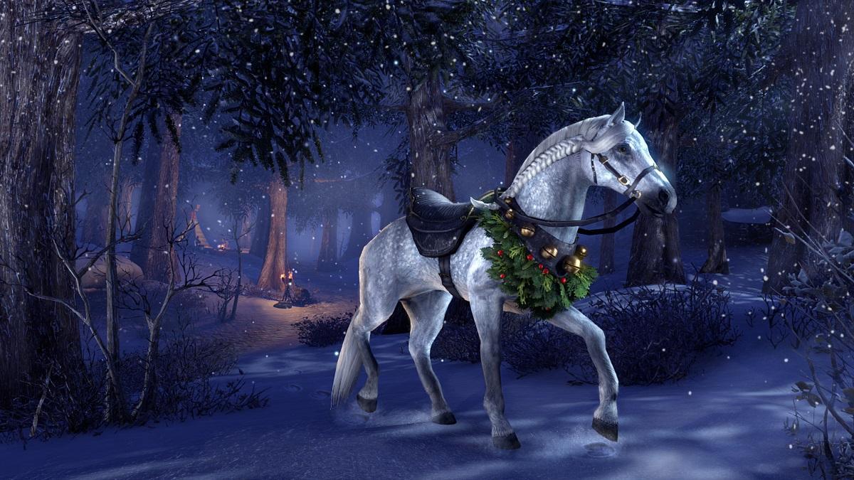 Winter Garland Dapple Gray