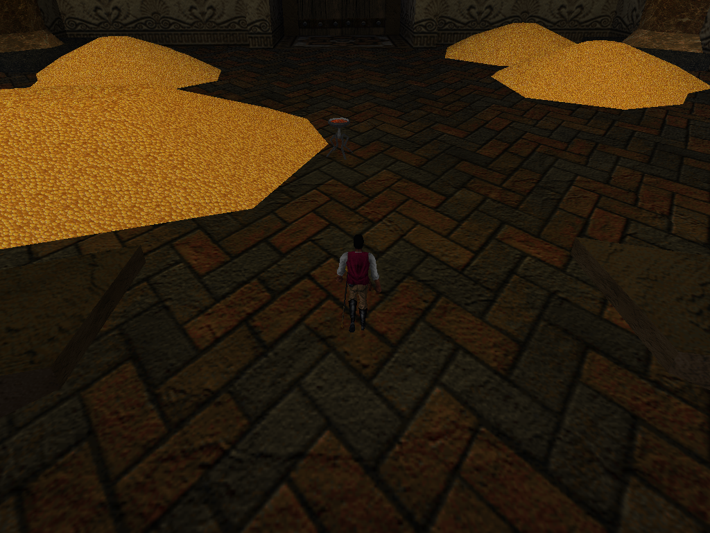 Redguard - Catacombs Treasure Room Cut Scene.png