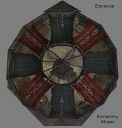 Wise Woman Yurt Interior Map