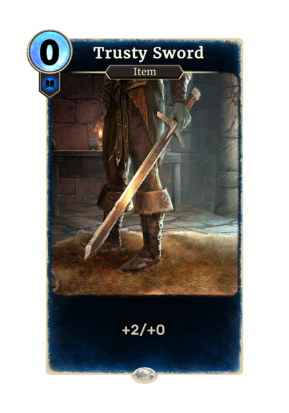 Верный меч