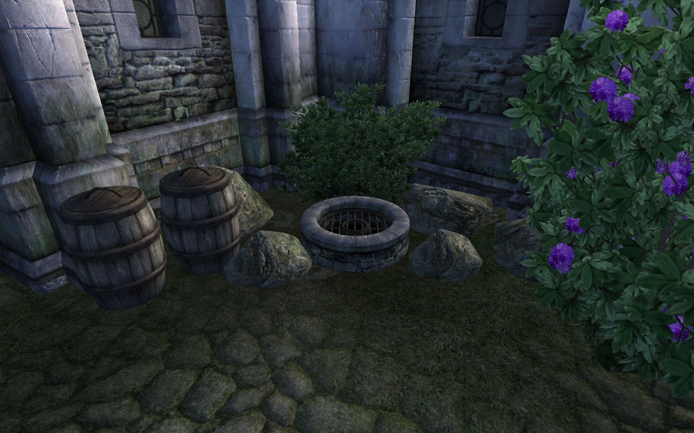 Канализация Эльфийского сада