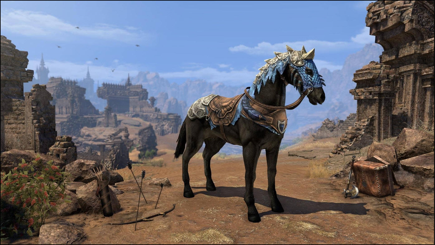 Elder Dragon Hunter Horse