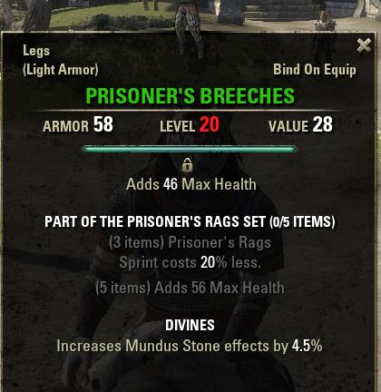 Prisoner's Rags