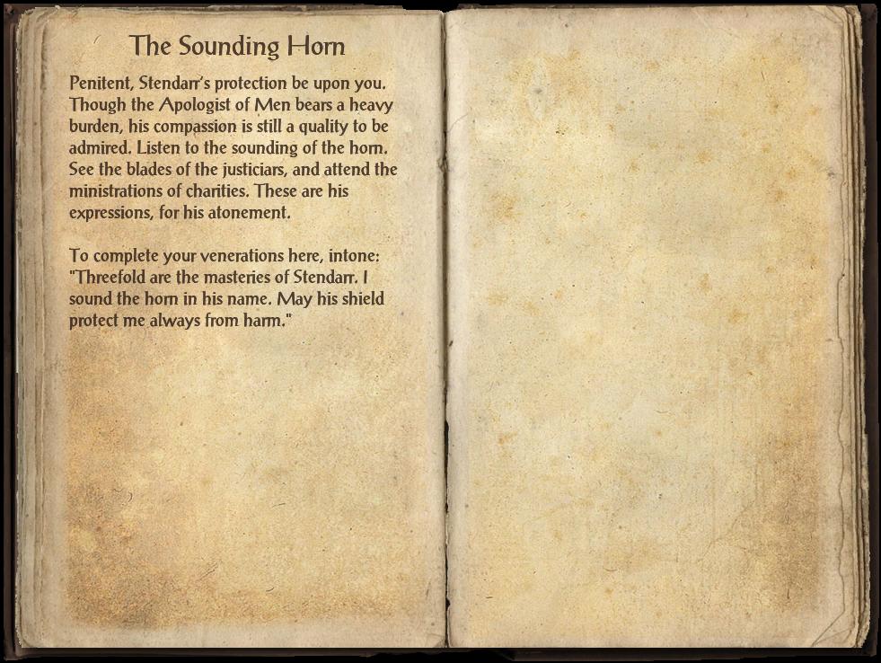 The Sounding Horn