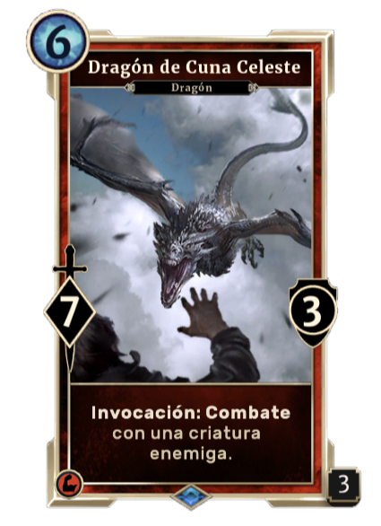 Dragón de Cuna Celeste