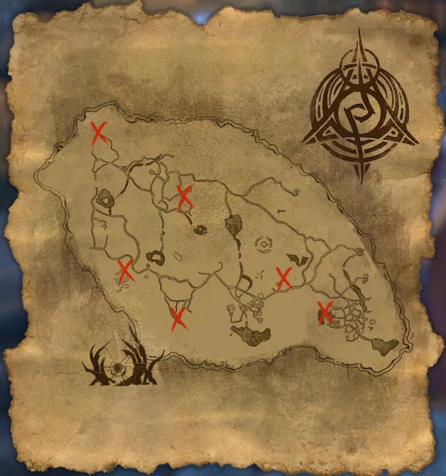 Psijic Map of Craglorn