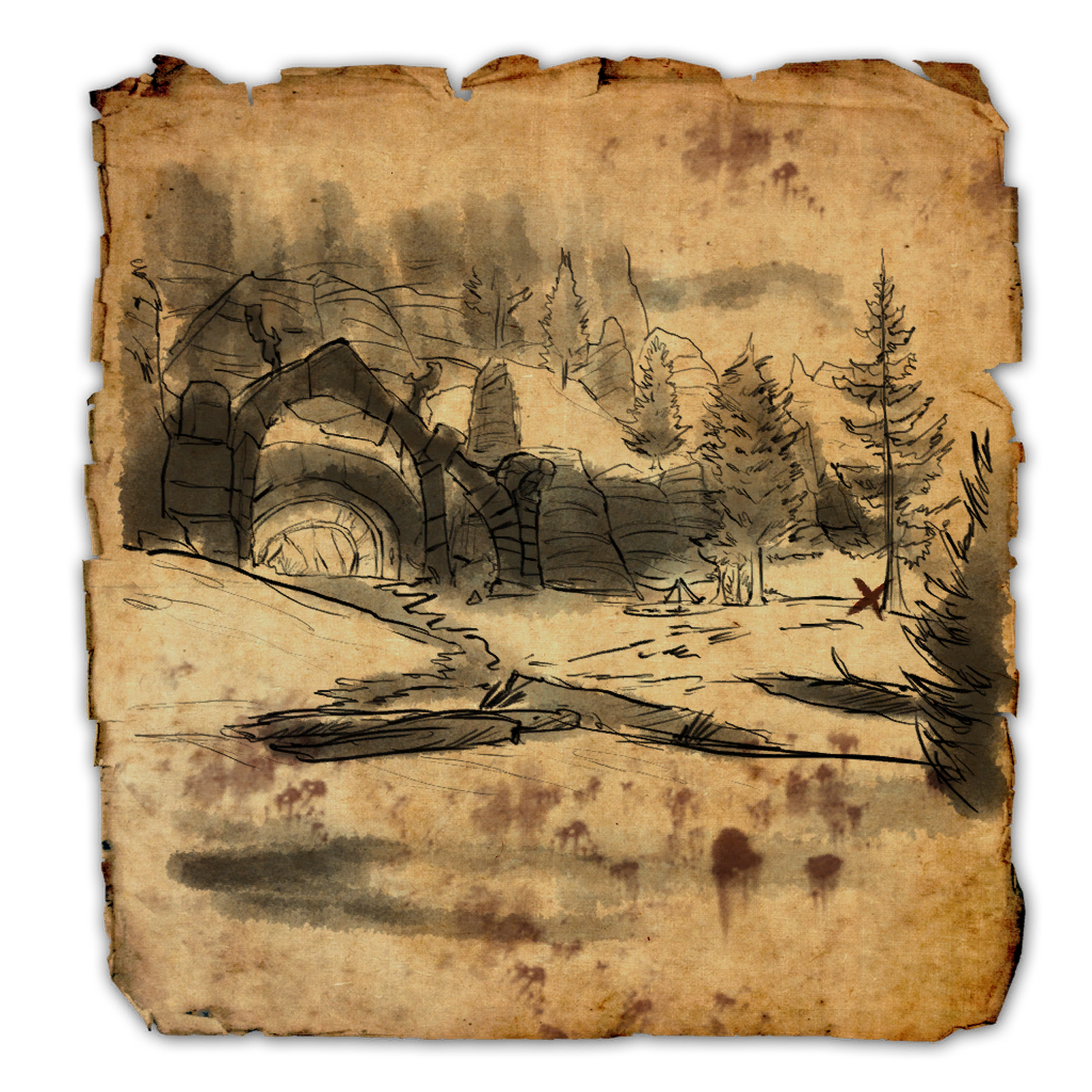 Eastmarch CE Treasure Map