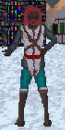 Mężczyzna z Hammerfell podczas zimy (Arena)