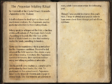 The Argonian Mating Ritual