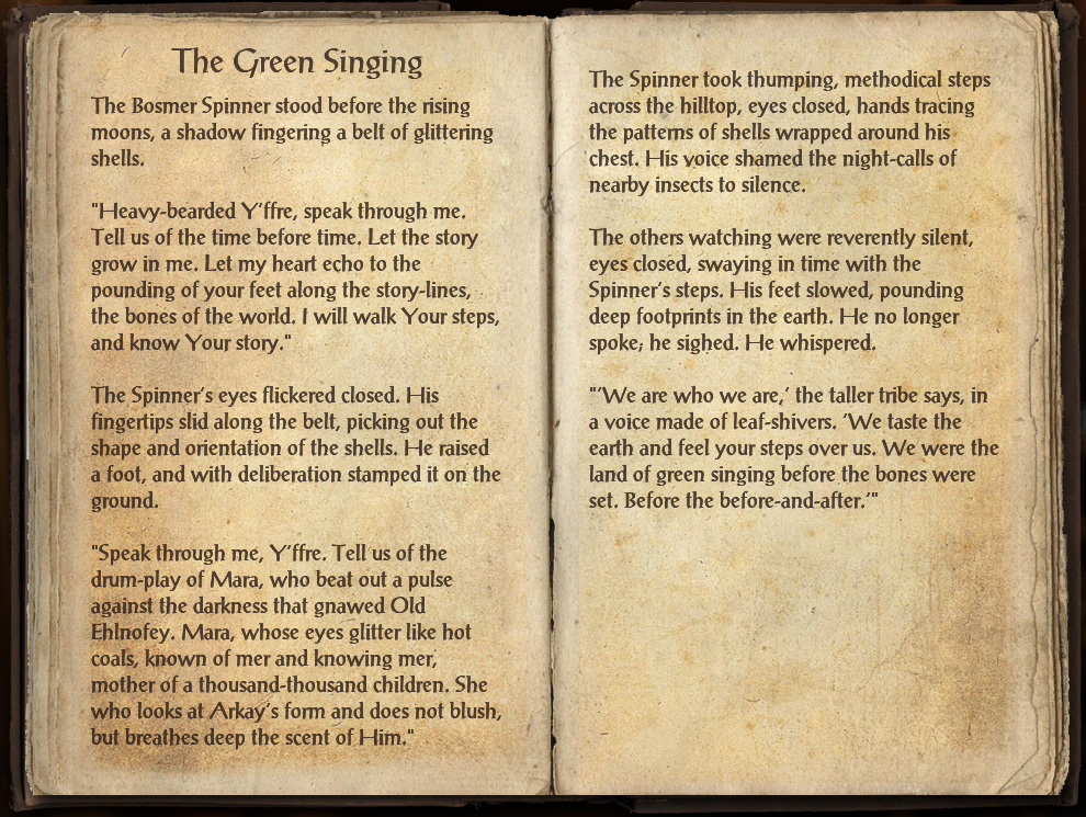 The Green Singing
