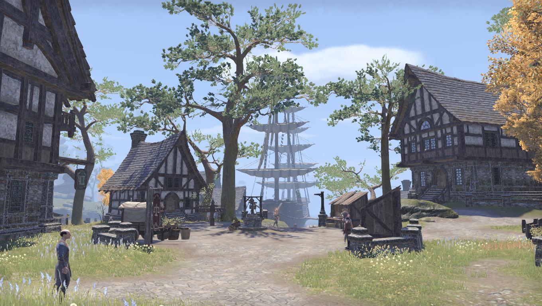Деревня Кеглин