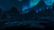 Озеро Йоргрим - ночью