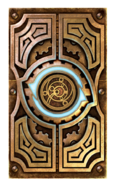 Clockwork City card back SP