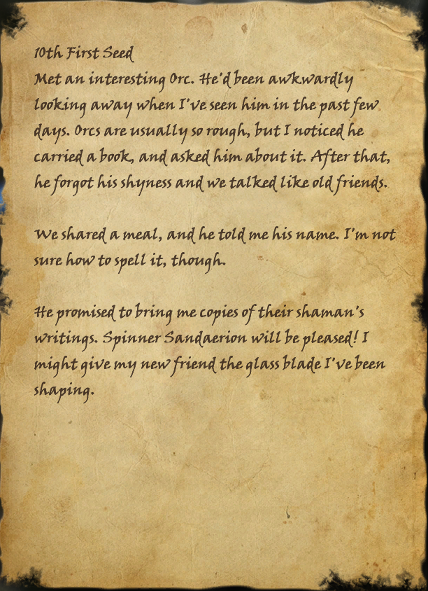 Dalaneth's Journal, Page 2