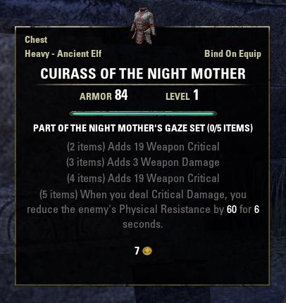 Night Mother's Gaze