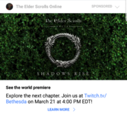 Shadows Rise ESO Chapter