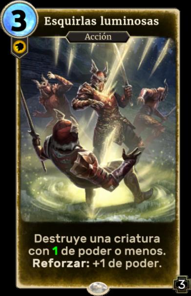 Esquirlas luminosas (Legends)