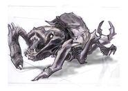 Wczesny koncept chaurusa 2 (Conceptart) by Adam Adamowicz