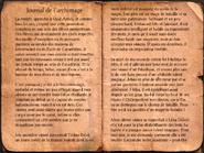Journal de l'archimage 1