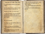 Varieties of Faith: The Orcs