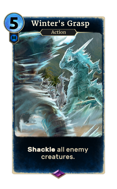 Winter's Grasp (Legends)