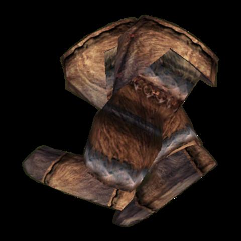 Северные меховые ботинки (Morrowind)